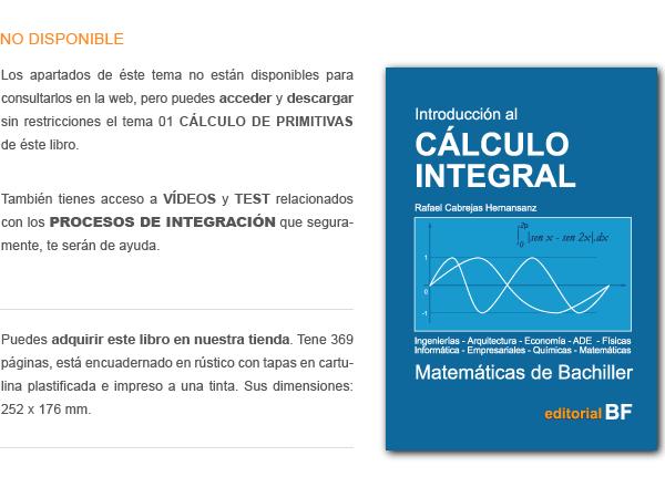 Libro de Calculo integral.
